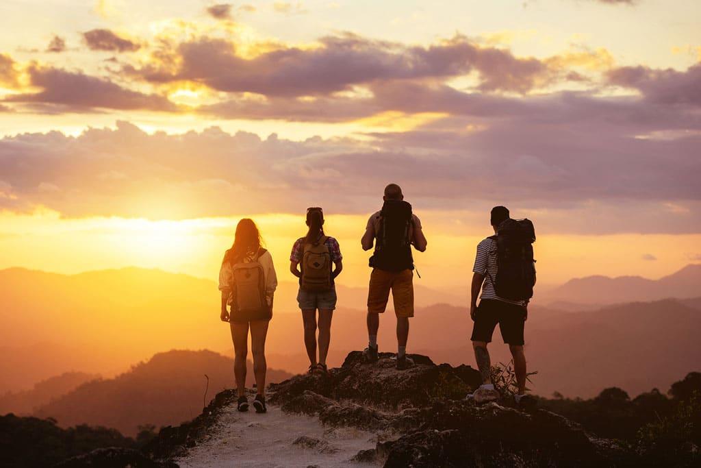 Rheuma Akademie Berg Sonnenuntergang