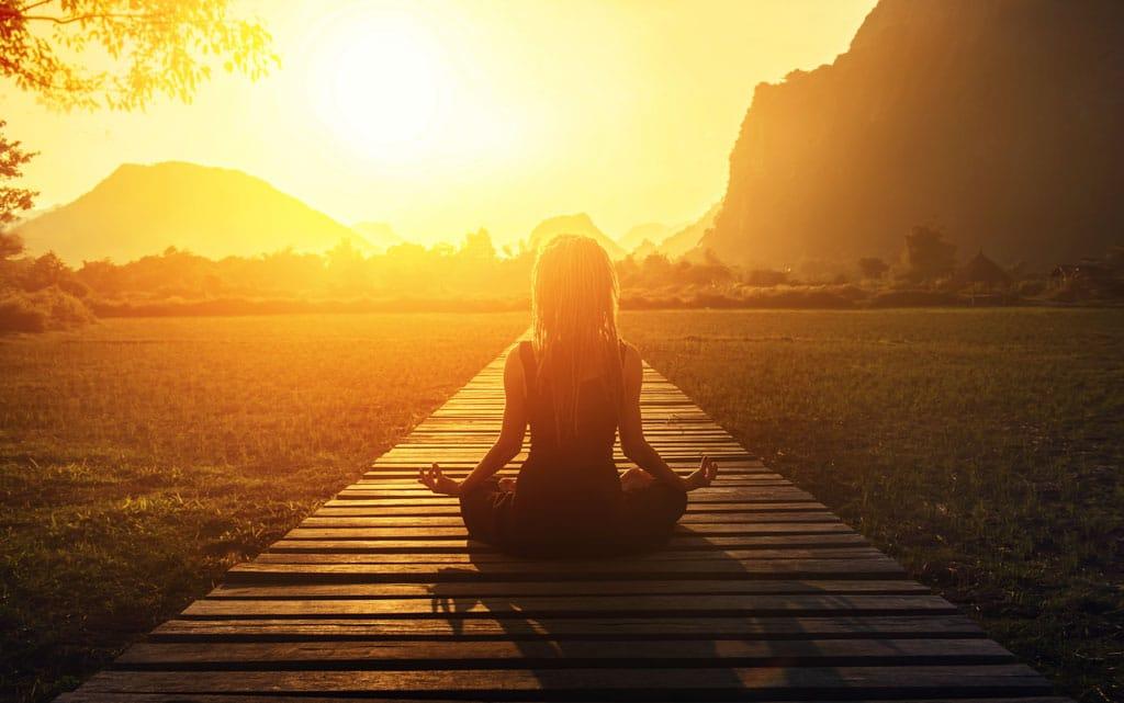 Yoga Sonnenuntergang Rheuma Akademie