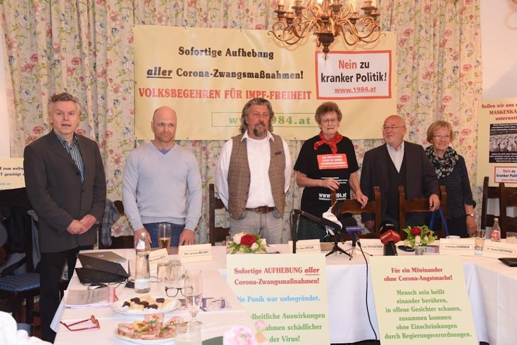 Pressekonferenz Impffreiheit