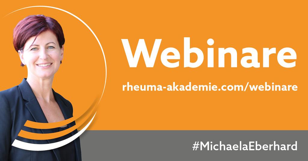 Webinare Rheuma Akademie #MichaelaEberhard