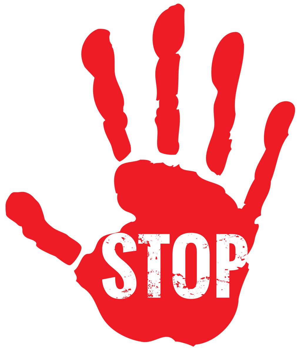 Rheuma Akademie Rote Hand Stop