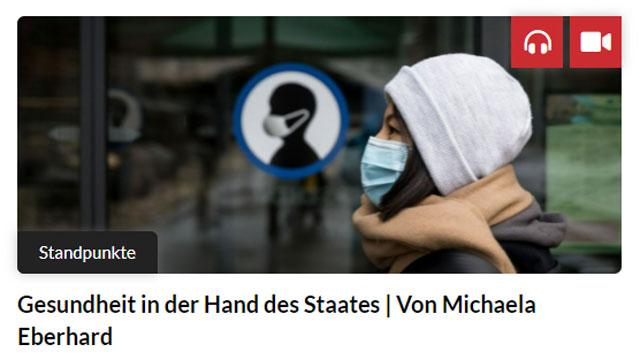 Gesundheit in der Hand des Staates